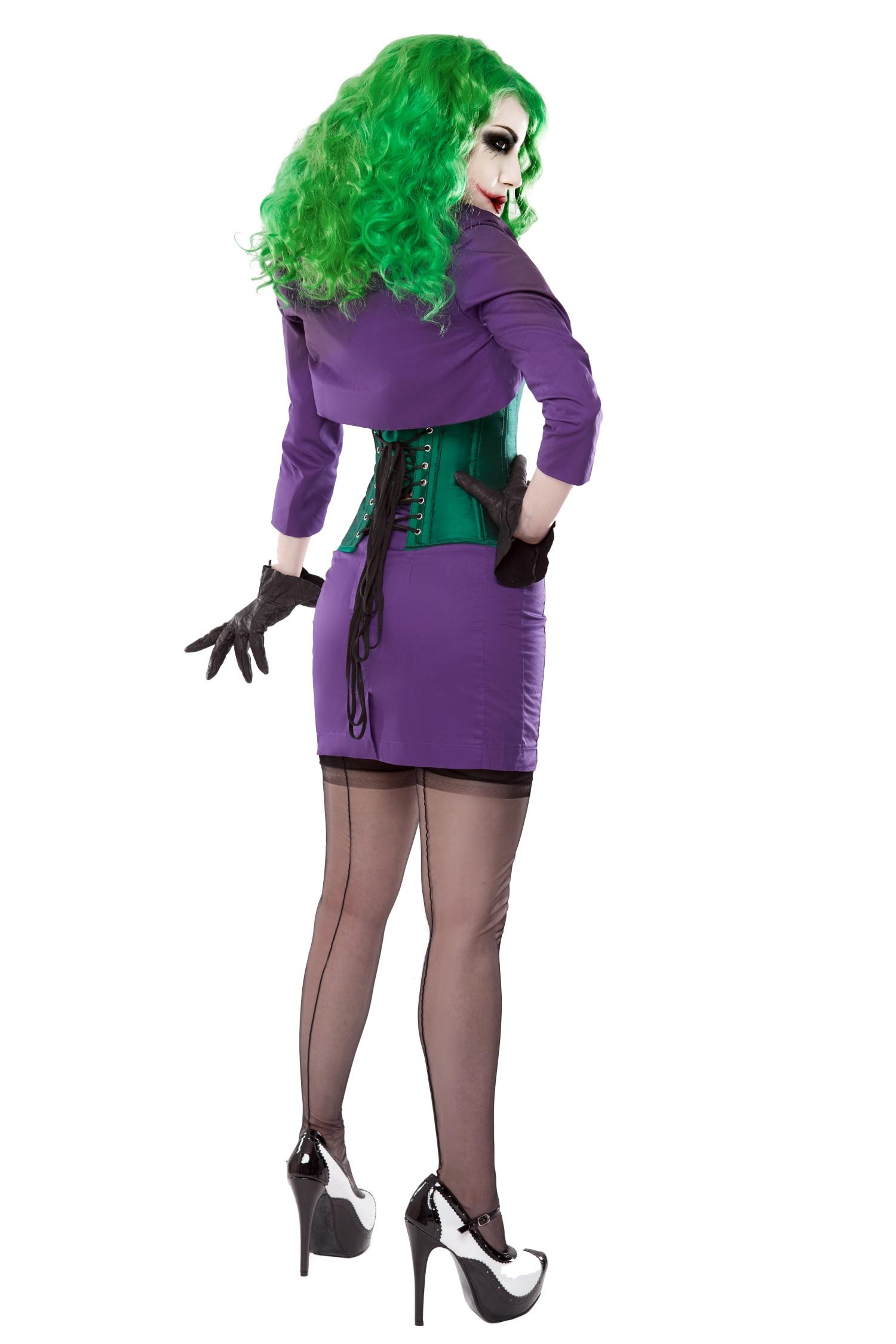 Playgirl Purple Short Pencil Skirt