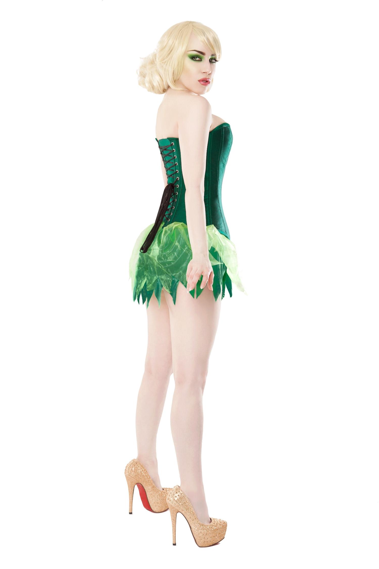 Playgirl Green Tinkerbell Fairy Tutu Skirt