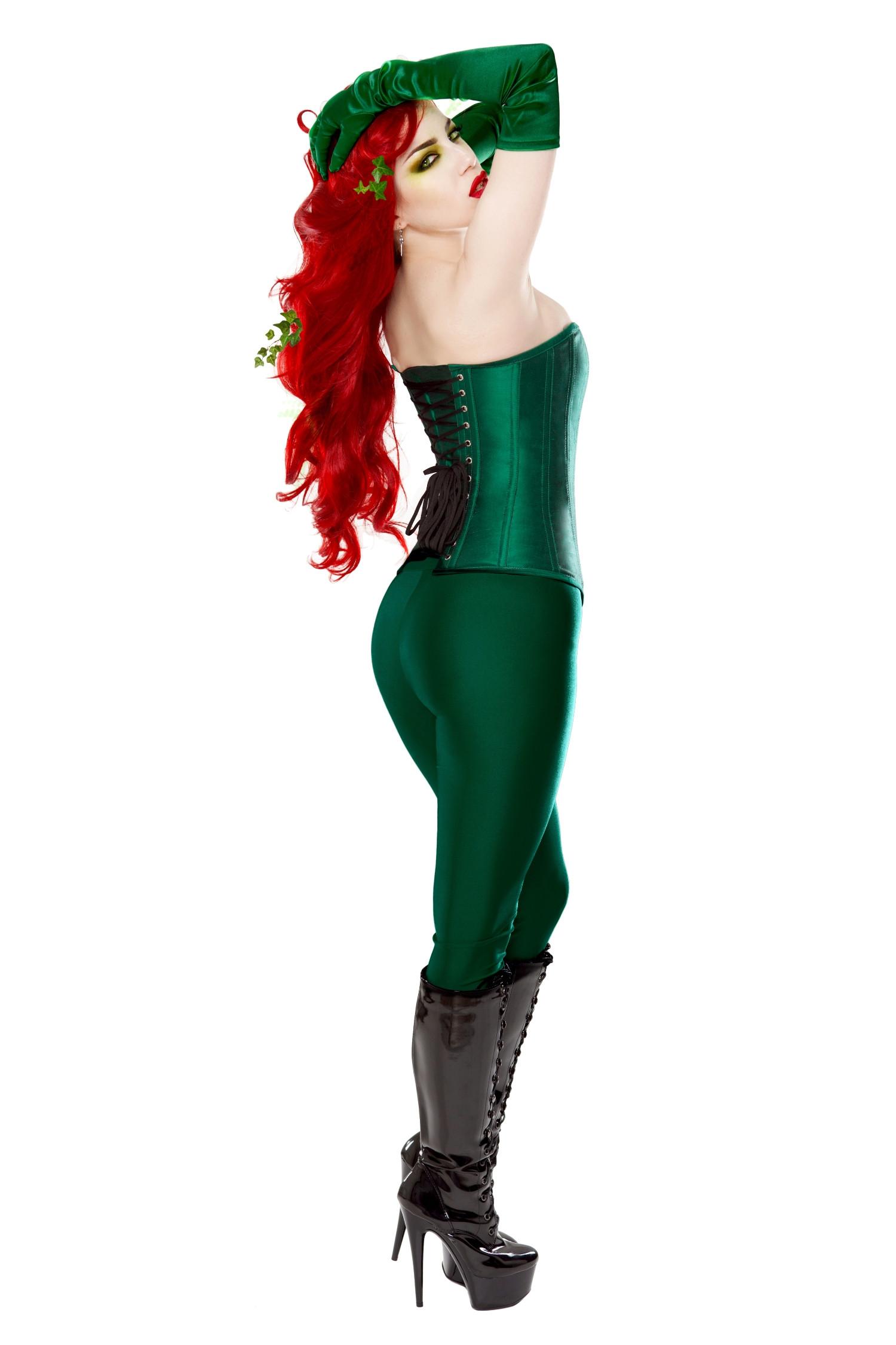 Playgirl Dark Green Poison Ivy Leggings