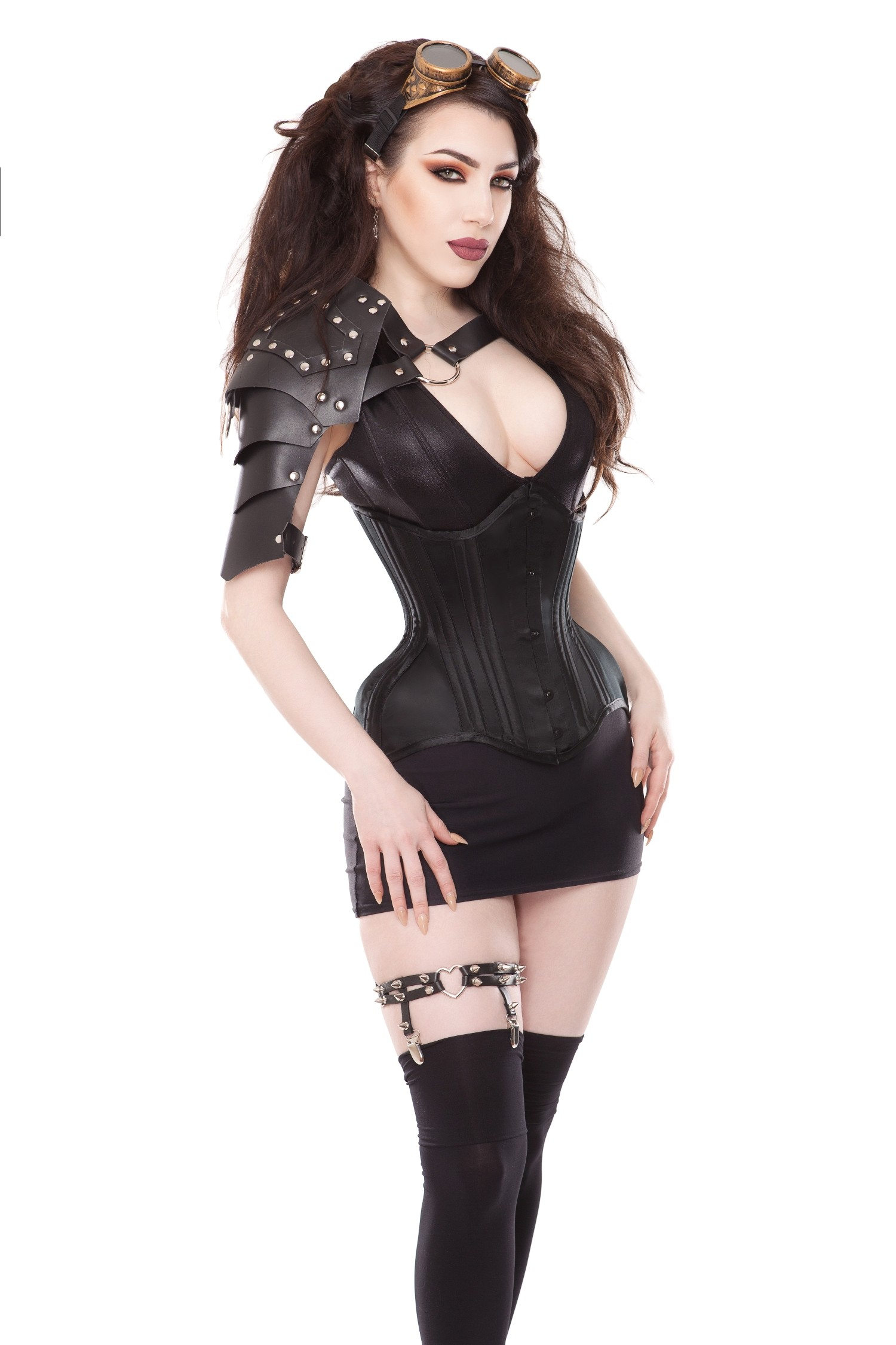 Playgirl Black Shoulder Armor
