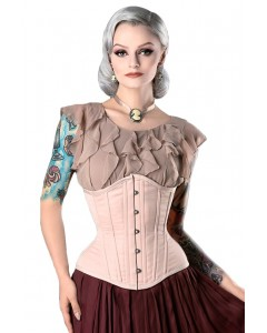 Nude Steel Boned Corset