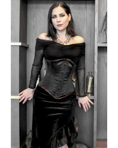 Kinnaird Duchess Satin Lilah Steel Boned Stealthing Corset
