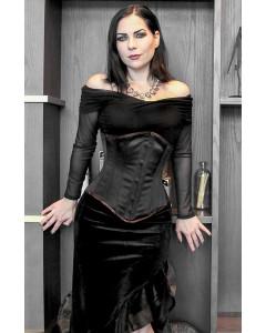 Kinnaird Duchess Satin Lilah Steel Boned Stealthing Corset
