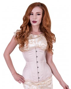 Long Steel Boned Corset Long