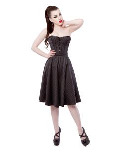 Pinstripe Corset Dress