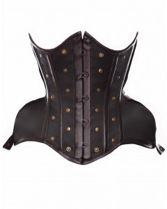 Curvella Full Hips Corset With Brass Details