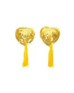 Gold Sequin Nipple Tassels
