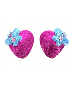 Heart Shaped Butterfly Nipple Pasties