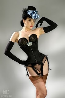 Dressing Like Dita Von Teese - 16 November 2010