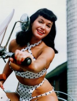 Icon of the month - Bettie Paige - 10 June 2010