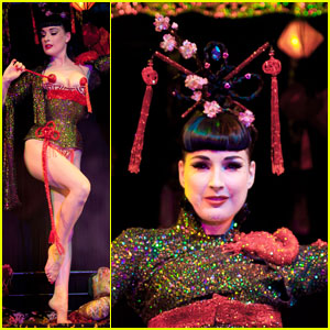 Dita brings the opium den to London - 28 November 2010