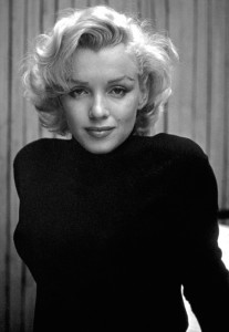 Marilyn is the perfect example of the appeal of a more conical bra shape